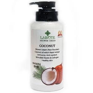 Крем для душа на основе кокосового масла Labote, 500 мл