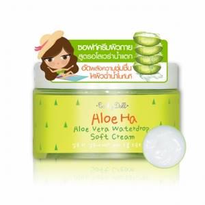 Крем для лица с алоэ вера Cathy Doll Aloe Ha Waterdrop Soft Cream, 220 мл