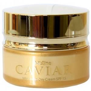 Крем для лица с черной икрой Mistine Caviar Whitening Day Cream SPF 15, 30 мл