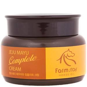 Крем для лица с лошадиным маслом для сухой кожи FarmStay Jeju Mayu, 100 гр