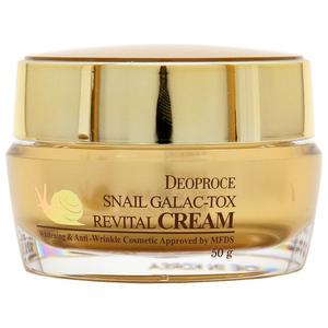 Крем для лица с муцином улитки Deoproce Snail Galac-tox Revital Cream, 50 гр