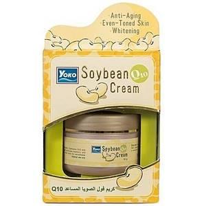 Крем для лица с Q10 и соевым белком Yoko Soybean Cream, 50 мл