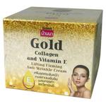 Крем для лица с витамином E, золотом и коллагеном Banna, 100 гр