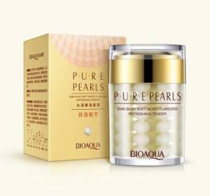 Крем для лица с жемчугом Bioaqua Pure Pearls, 60 гр