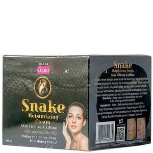Крем для лица со змеиным ядом Banna Snake Moisturizing Cream, 100 мл