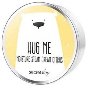 Крем для лица цитрусовый Secret Key Hug Me Moisture Steam Cream, 80 гр