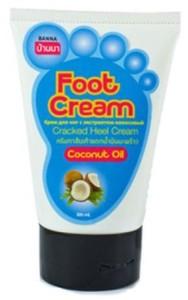 Крем для ног с кокосом Banna, 120 мл