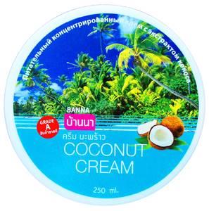 Крем для тела с кокосом Banna, 250 гр