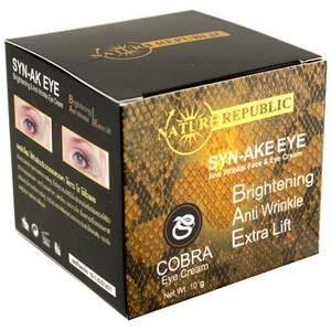 Крем для век с вытяжкой из яда кобры Nature Republic Syn-Ake Eye, 15 гр