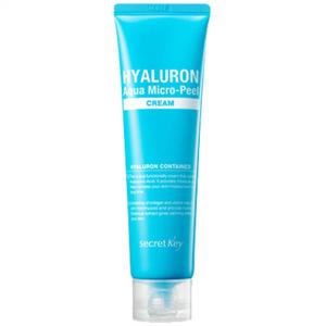 Крем гиалуроновый для омоложения Secret Key Hyaluron Aqua Micro-Peel, 70 гр