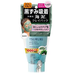 Крем-маска с глиной и морскими водорослями BCL Tsururi Mineral, 150 гр