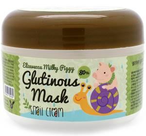 Крем-маска с улиточным муцином Elizavecca Milky Piggy Glutinous 80% Mask, 100 гр