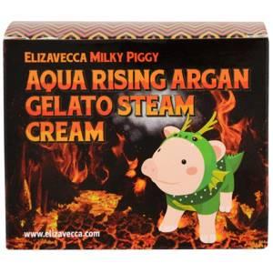 Крем паровой увлажняющий Elizavecca Aqua Rising Argan Gelato Steam Cream, 100 гр