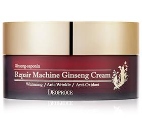 Крем с экстрактом женьшеня Deoproce Repair Machine Ginseng Cream, 100 гр