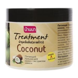 Маска-бальзам для волос с кокосом Banna, 300 мл