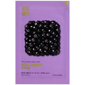 Витаминизирующая маска c ягодами асаи Holika Holika Pure Essence Acai Berry, 20 мл