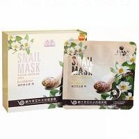 Маска для чувствительной кожи Pibamy с улиточной слизью и экстрактами,  48 гр