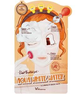 Маска для лица 3-шаговая Elizavecca 3-step Aqua White Water Mask Pack