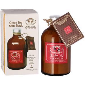 Маска для лица от прыщей с зеленым чаем Madame Heng, 50 гр