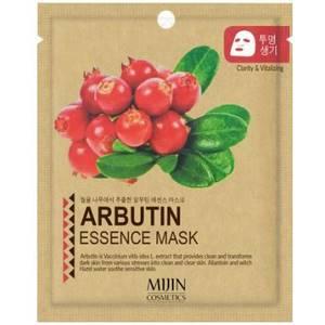 Маска для лица с арбутином Mijin Arbutin Essence, 25 гр