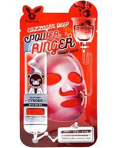Маска для лица с коллагеном Elizavecca Collagen Deep Power Ringer