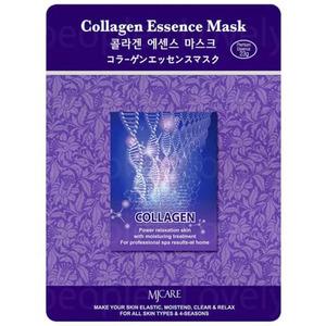 Маска для лица с коллагеном Mijin Collagen Essence, 23 гр