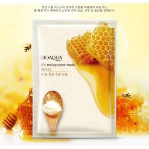 Маска для лица с медом Bioaqua