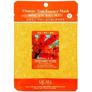 Маска для лица с облепихой Mijin Vitamin Tree Essence, 23 гр