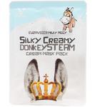 Маска для лица с паровым кремом Elizavecca Silky Creamy Donkey Steam, 25 мл
