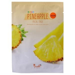Маска для лица тканевая с ананасовой эмульсией Moods, 38 гр