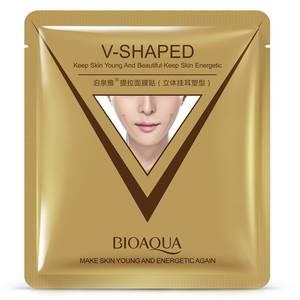 Маска для лица V-Shaped Bioaqua для коррекции овала лица, 40 гр
