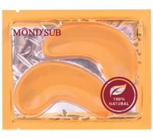 Маска для век «Морской Коллаген и Биозолото» Mondsub, 8 гр