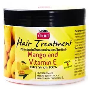 Маска для волос c витамином E и манго Banna, 300 мл