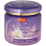Маска для волос с белой лилией Lolane Natura White Lily, 250 гр