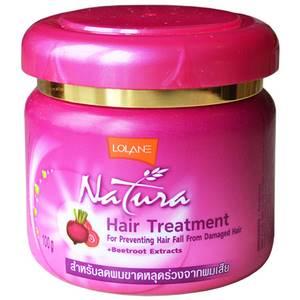 Маска от выпадения волос со свеклой Lolane Natura Beetroot, 250 гр
