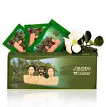 Маска-пленка с глубоководными водорослями и бамбуковым углем Shiseido, 10 шт