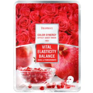 Маска с экстрактом граната и розы Deoproce Color Synergy Effect, 20 гр