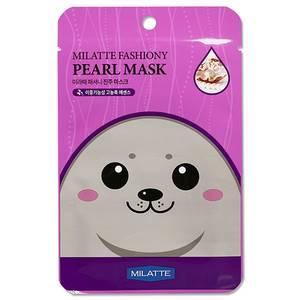 Маска с экстрактом жемчуга Milatte Fashiony Pearl Mask, 21 гр