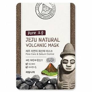 Маска с вулканическим пеплом для очищения пор Welcos Jeju Volcanic, 20 мл