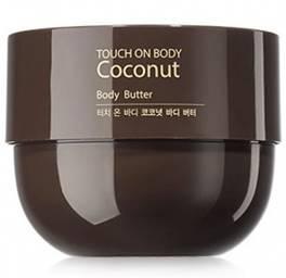 Масло для тела с кокосовой водой The Saem Touch On Body Coconut Butter, 300 мл