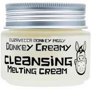 Масло-крем для снятия макияжа Elizavecca Donkey Creamy Cleansing Melting Cream, 100 гр