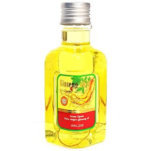 Масло с корнем женьшеня для волос и тела Wokali Ginseng Oil, 300 мл