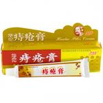 Мазь от геморроя с мускусом Huatuo Piles Cream, 25 гр