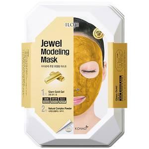 Моделирующая маска с частицами золота Konad Jewel Modeling Mask