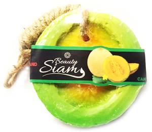 Мыло фигурное Мускусная дыня Cantaloupe, 100 гр
