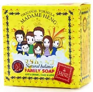Мыло с экстрактом календулы и жимолости Madame Heng Family Soap, 150 гр