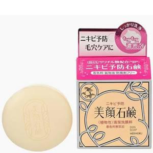 Мыло туалетное для проблемной кожи лица Meishoku Bigansui, 80 гр