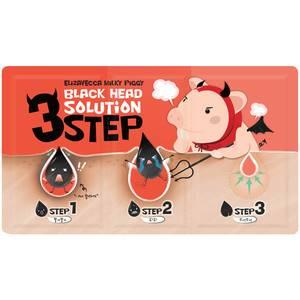 Набор от черных точек Elizavecca Milky Piggy Black Head Solution 3 Step