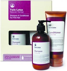 Набор Шампунь и Кондиционер «Twin Lotus» для нормальных волос