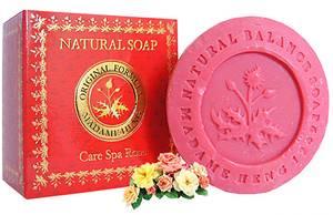 Натуральное мыло с розой Madame Heng Soap Care Spa Rose, 150 гр